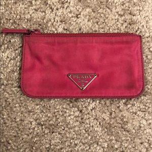 Prada coin/card purse